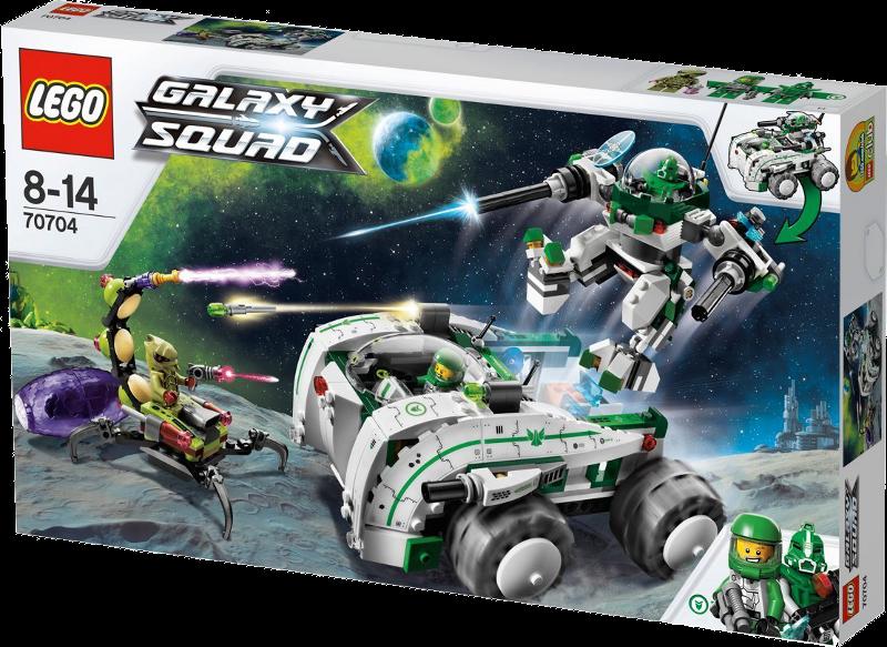 LEGO® Galaxy Squad 70704 - Robo-Speziallabor
