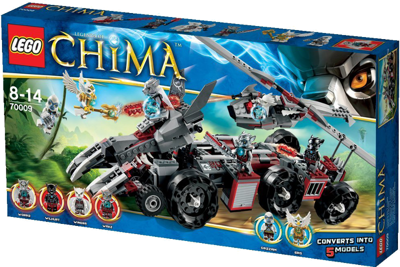 LEGO® Legends of Chima™ 70009 - Worriz' Großer Wolfstruck