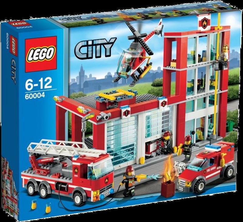 LEGO® City 60004 - Feuerwehr-Hauptquartier