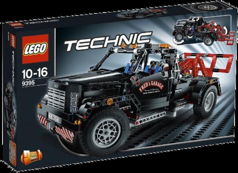 LEGO® Technic 9395 - Pickup-Abschleppwagen