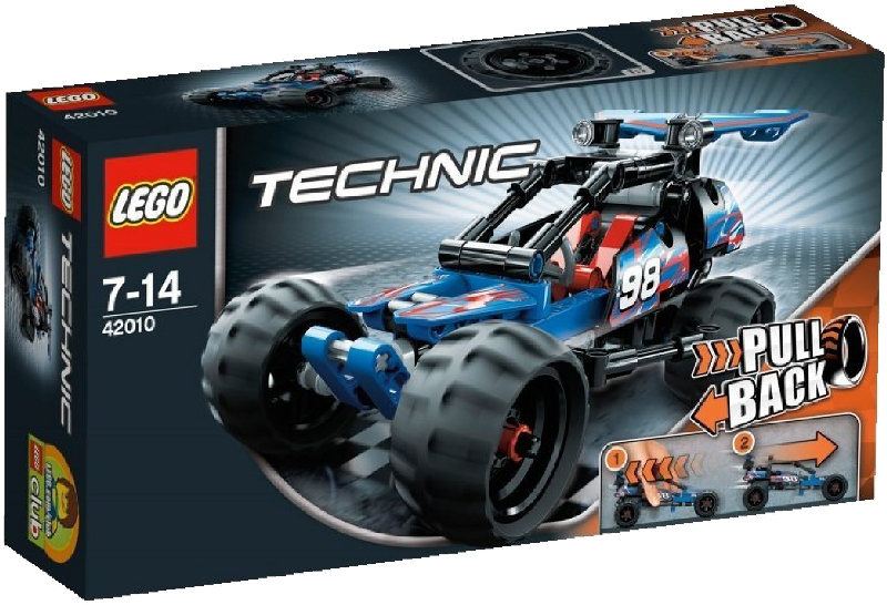 LEGO® Technic 42010 - Action Race-Buggy