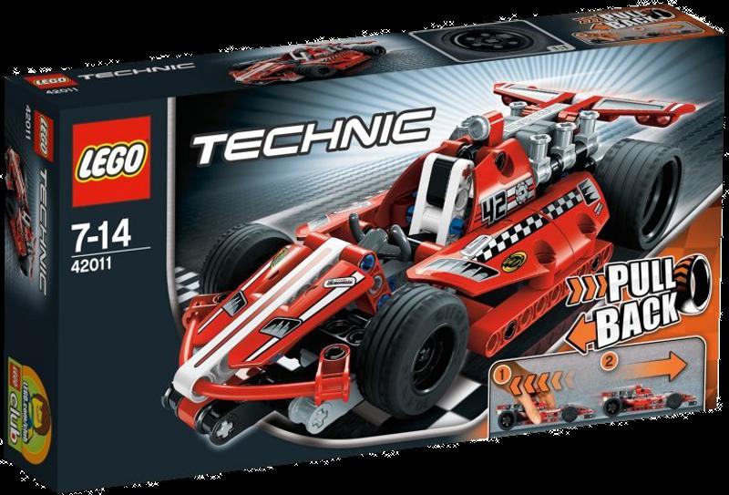 LEGO® Technic 42011 - Action Rennwagen