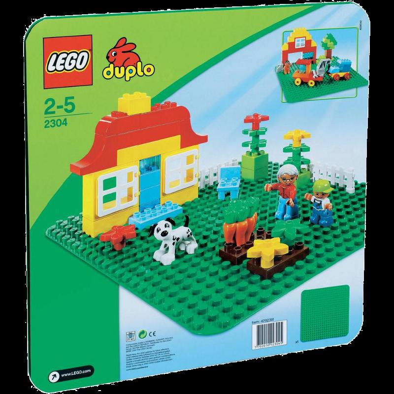 LEGO® DUPLO® 2304 - Große Bauplatte - grün