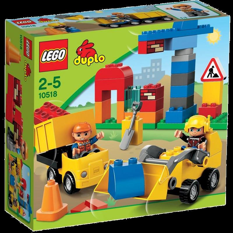 LEGO® DUPLO® 10518 - Meine erste Baustelle