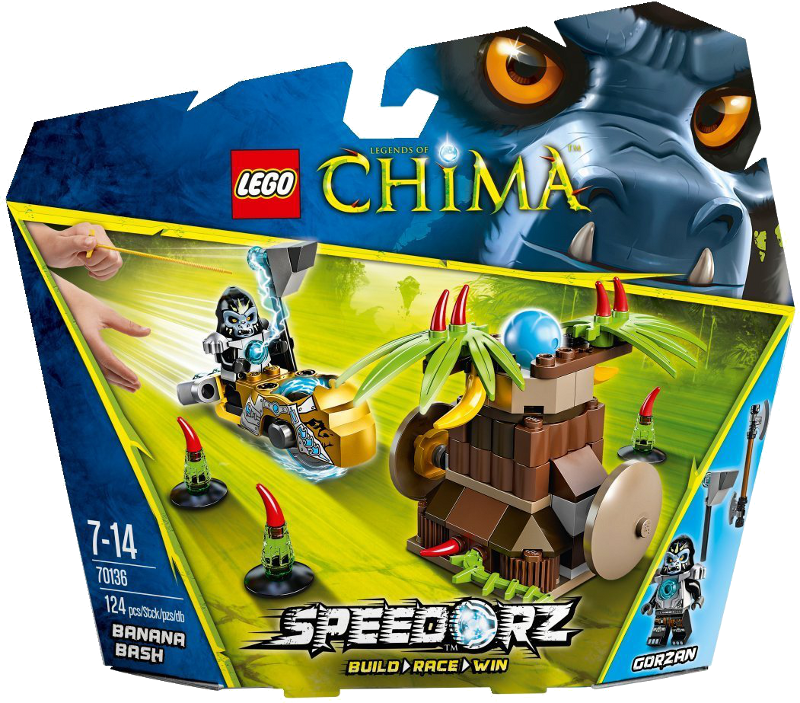 LEGO® Legends of Chima™ 70136 - Speedorz Banana Power