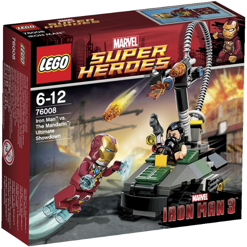 LEGO® Super Heroes 76008 - Iron Man vs The Mandarin: Letzte Entscheidung