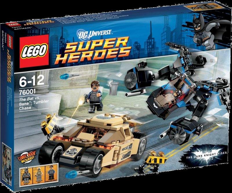 LEGO® Super Heroes 76001 - Batman vs Bane: Verfolgungsjagd im Tumbler