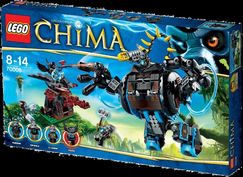 LEGO® Legends of Chima™ 70008 - Gorzans Gorilla-Roboter