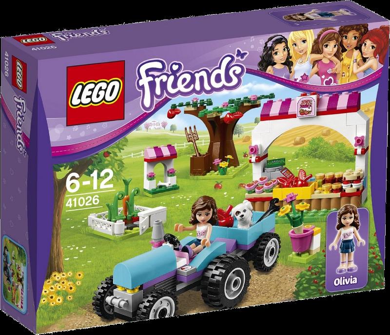 LEGO® Friends 41026 - Olivias Gemüsegarten