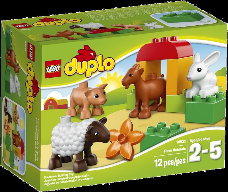 LEGO® DUPLO® 10522 - Bauernhof-Tiere