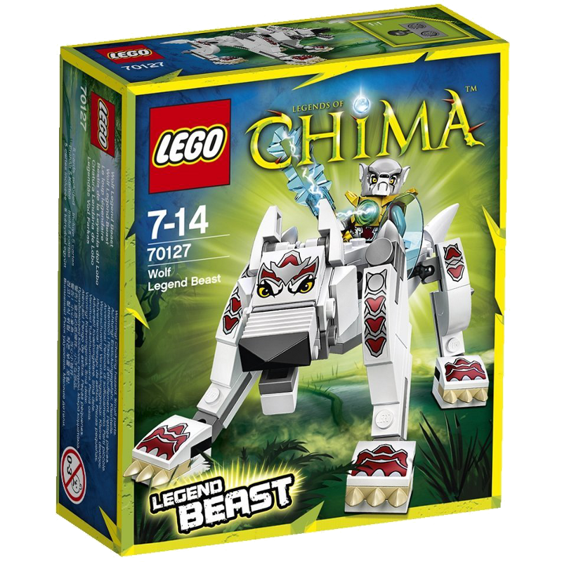 LEGO® Legends of Chima™ 70127 - Wolf - Legend-Beast