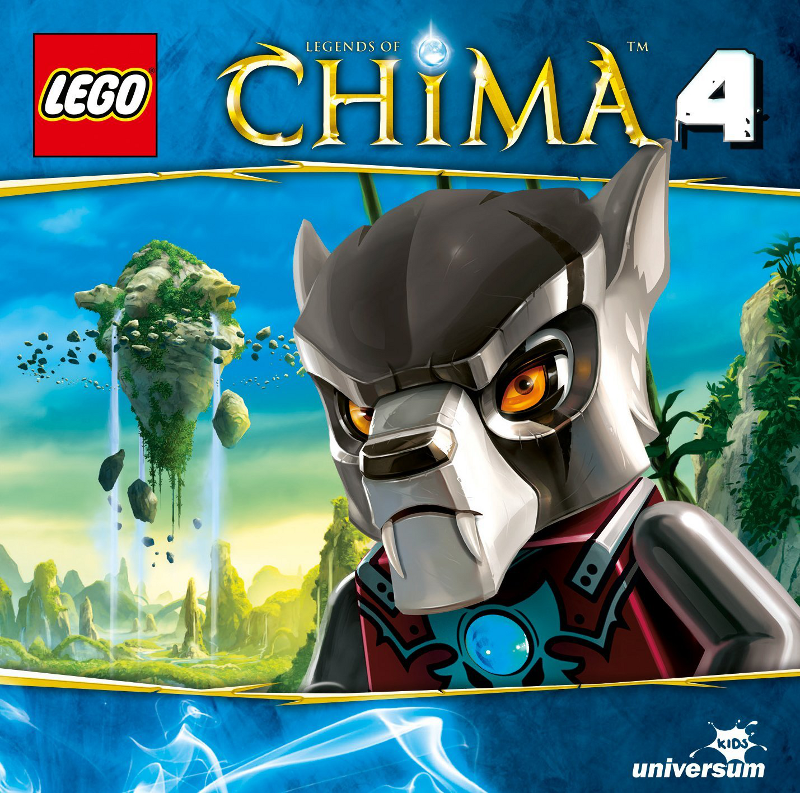 Sony Music - LEGO® Legends of Chima™ CD4 - Gorillas außer Rand und Band