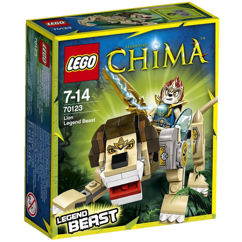 LEGO® Legends of Chima™ 70123 - Löwe - Legend-Beast
