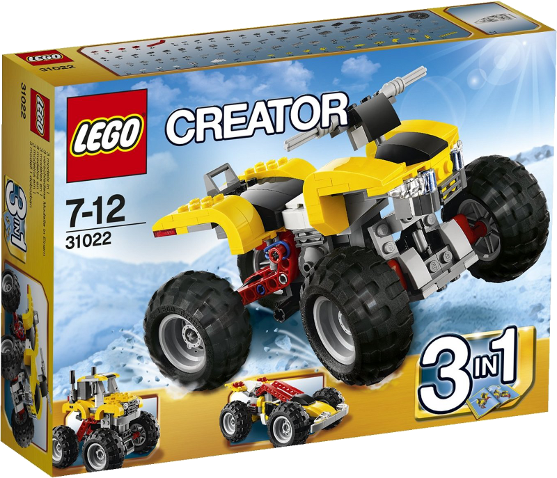 LEGO® Creator 31022 - Turbo-Quad