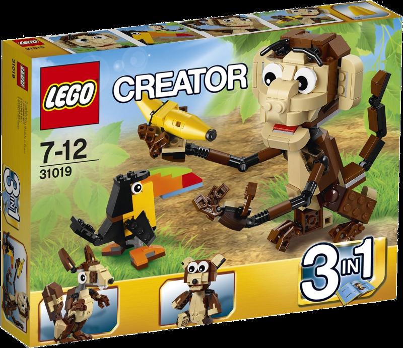LEGO® Creator 31019 - Urwald Tiere