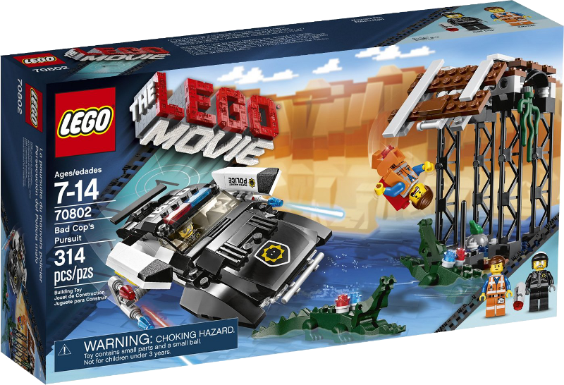 LEGO® Movie 70802 - Bad Cops Verfolgungsjagd