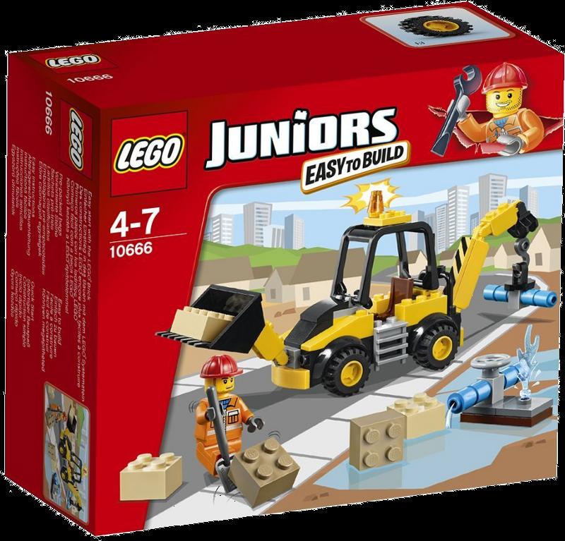 LEGO® Juniors 10666 - Bagger