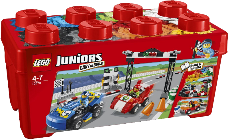 LEGO® Juniors 10673 - Große Steinebox Ralley