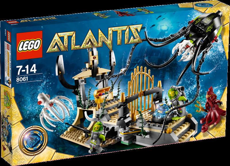 LEGO® Atlantis 8061 - Tintenfischtor