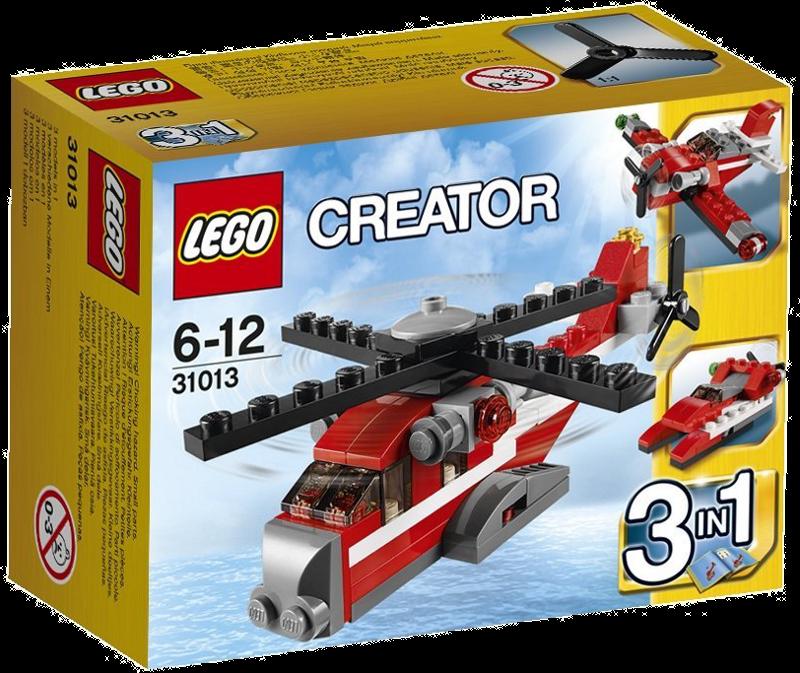 LEGO® Creator 31013 - Roter Hubschrauber