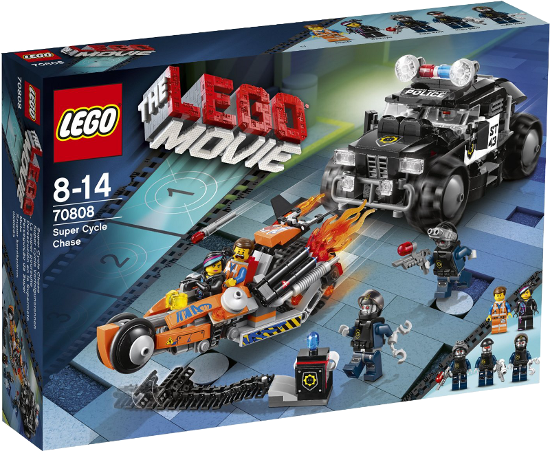 LEGO® Movie 70808 - Superbike Verfolgungsrennen