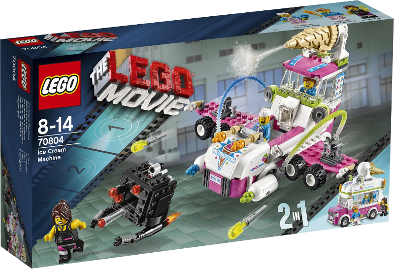 LEGO® Movie 70804 - Eiscremewagen