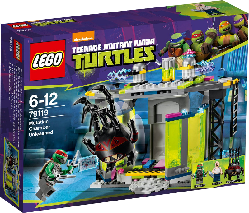 LEGO® Teenage Mutant Ninja Turtles 79119 - Die Entdeckung der Mutationskammer