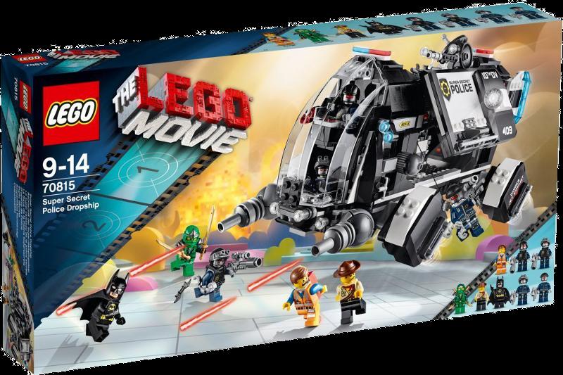 LEGO® Movie 70815 - Raumschiff der Super-Geheimpolizei