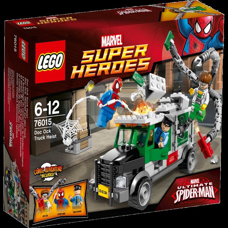 LEGO® Super Heroes 76015 - Doc Ock : Überfall auf den Truck