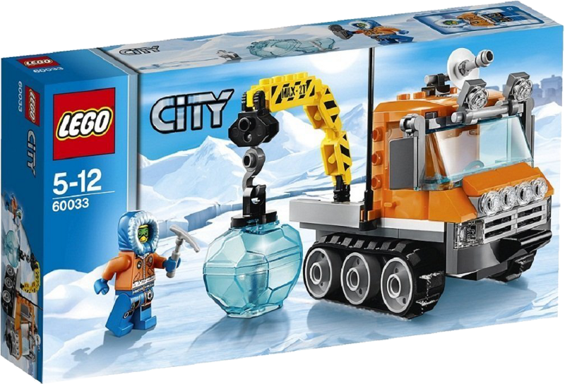 LEGO® City 60033 - Arktis-Schneefahrzeug