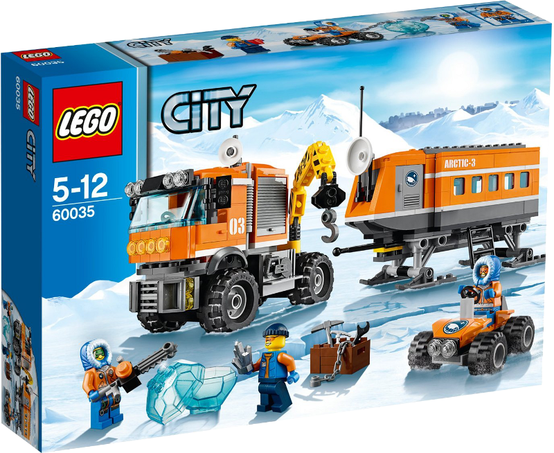 LEGO® City 60035 - Arktis-Truck