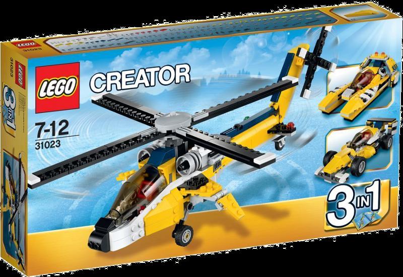 LEGO® Creator 31023 - Gelbe Flitzer