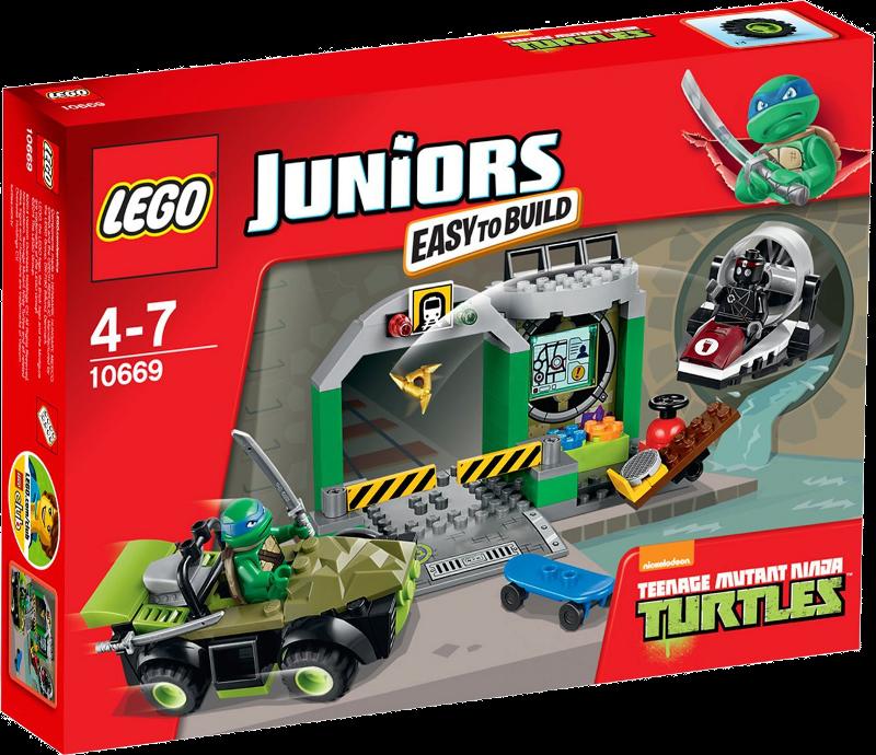 LEGO® Juniors 10669 - Turtle Versteck