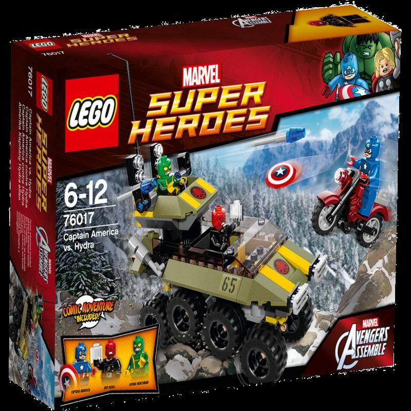 LEGO® Super Heroes 76017 - Captain America vs. Hydra