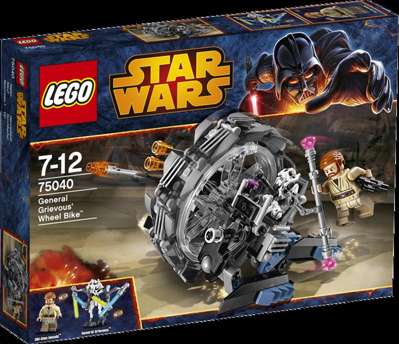 LEGO® Star Wars 75040 - General Grievous' Wheel Bike
