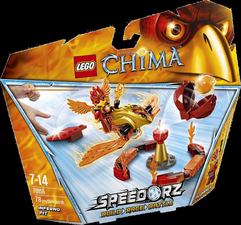 LEGO® Legends of Chima™ 70155 - Feuer-Höhle