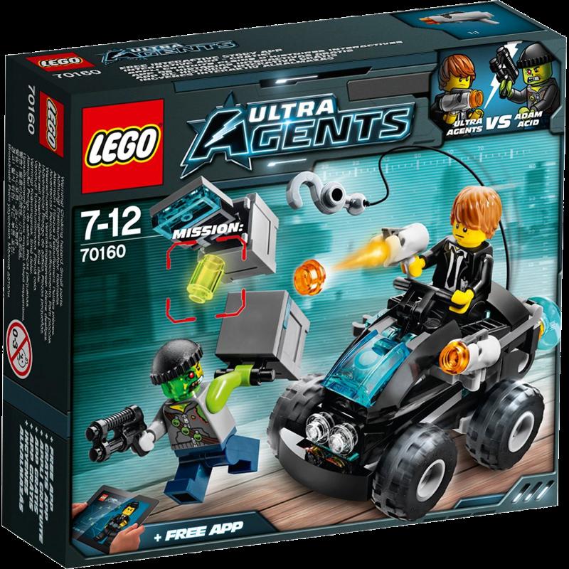 LEGO® Ultra Agents 70160 - Agenten Buggy