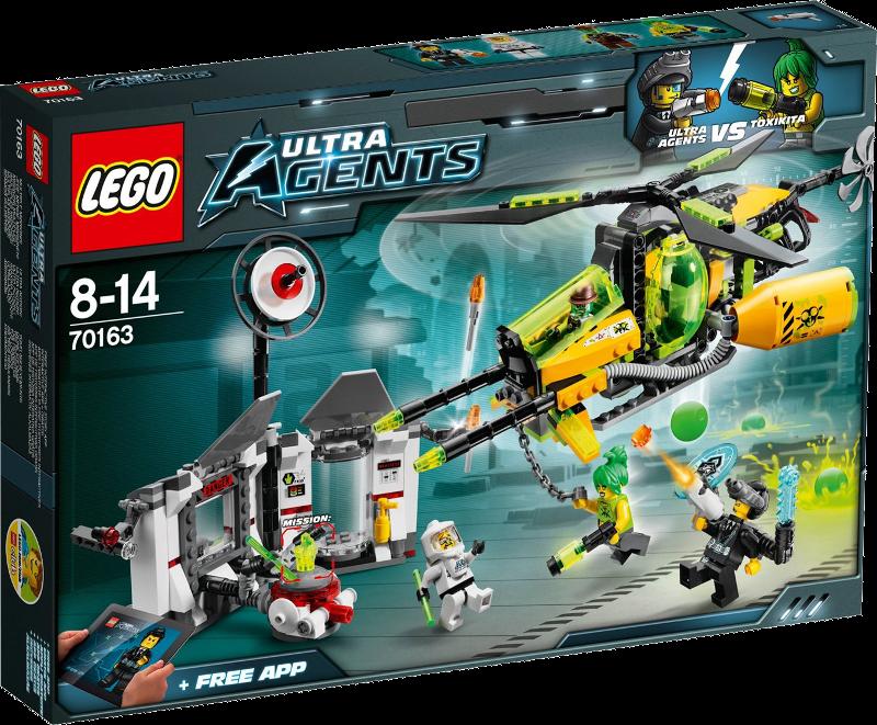 LEGO® Ultra Agents 70163 - Toxikitas Angriff auf das Labor