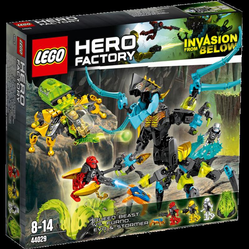 LEGO® Hero Factory 44029 - Queen Beast versus Furno, Evo & Stormer