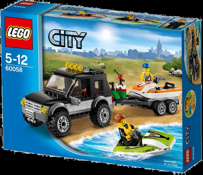 LEGO® City 60058 - Geländewagen mit Wasserfahrzeugen