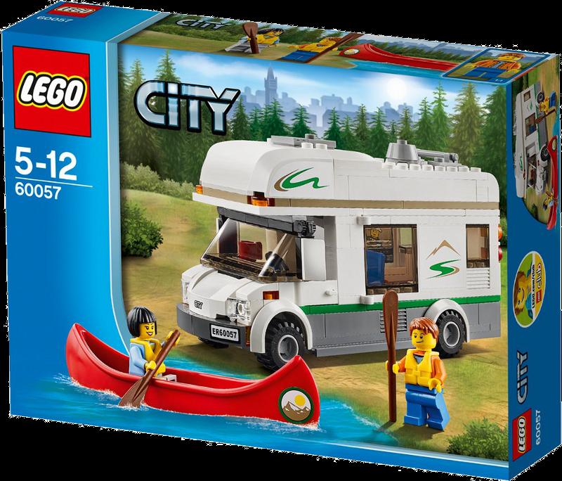 LEGO® City 60057 - Wohnmobil mit Kanu