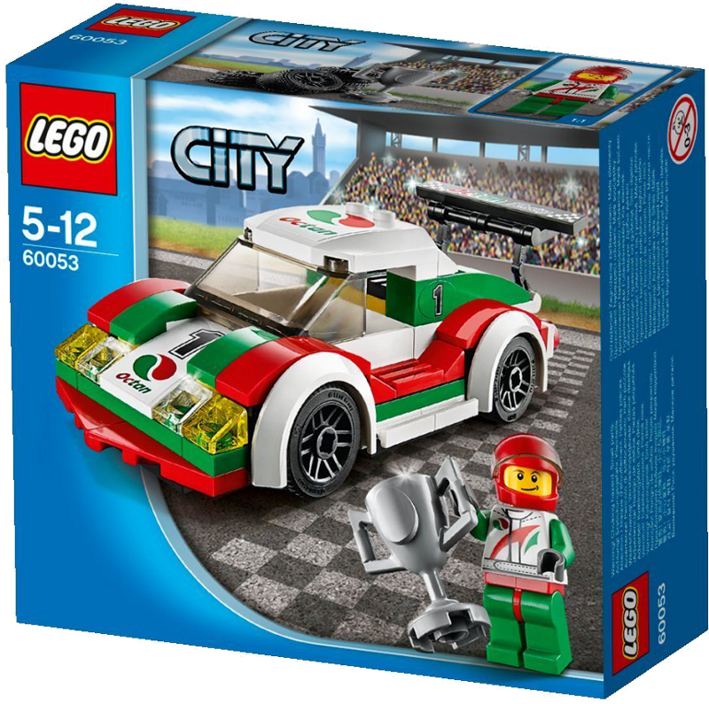 LEGO® City 60053 - Rennwagen