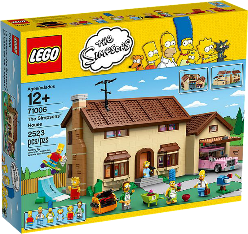 LEGO® Simpsons 71006 - Das Simpsons Haus