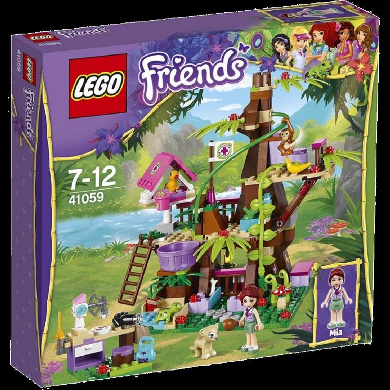 LEGO® Friends 41059 - Unterschlupf am Dschungelbaum