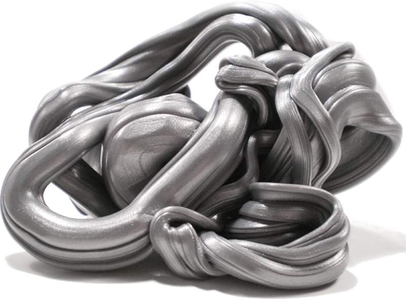 Intelligente Knete.de 16012 - Graphit - silber/grau