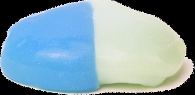 Intelligente Knete.de 22012 - Blaues Phantom inklusive UV-Lampe