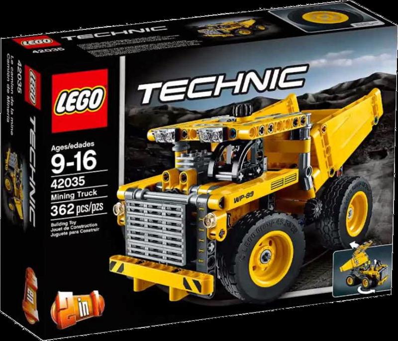 LEGO® Technic 42035 - Muldenkipper