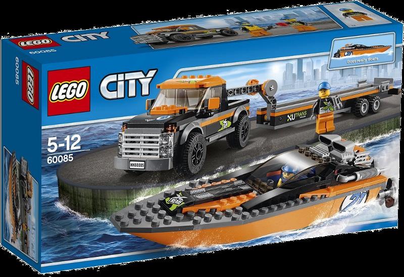 LEGO® City 60085 - Allradfahrzeug mit Powerboot