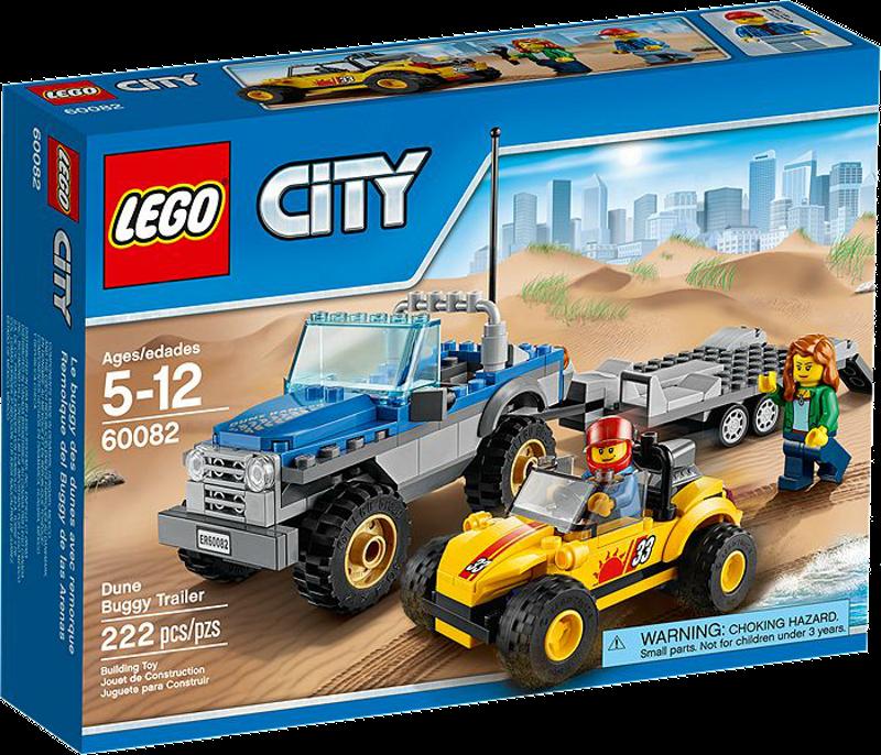 LEGO® City 60082 - Strandbuggy mit Allrad-Geländetransporter
