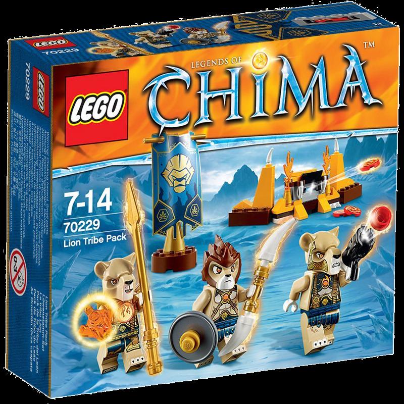 LEGO® Legends of Chima™ 70229 - Löwenstamm-Set